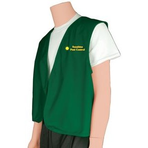 Uniform Open Front Vest