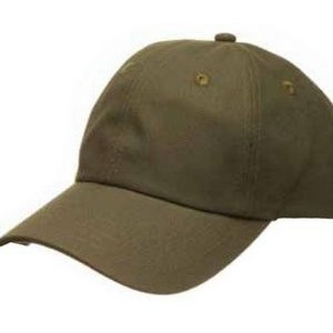 GRAVEL (Structured Cotton Canvas Cap)